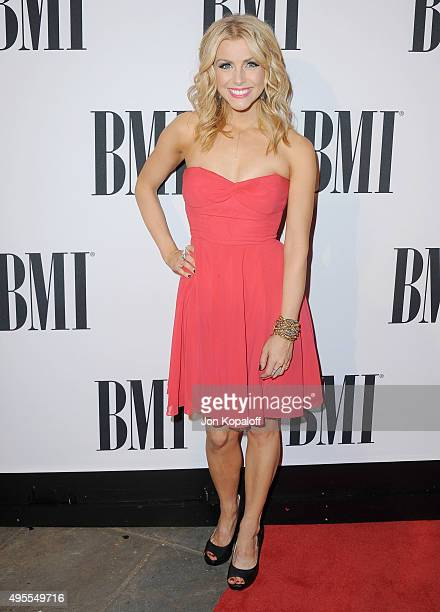 Singer Lindsay Ell attends the 63rd annual BMI Country awards on November 3 2015 in Nashville Tennessee
