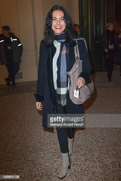 Singer Lio attends 'La Petite Veste Noire' Book Launch Hosted By Karl Lagerfeld Carine Roitfeld at Grand Palais on November 8 2012 in Paris France