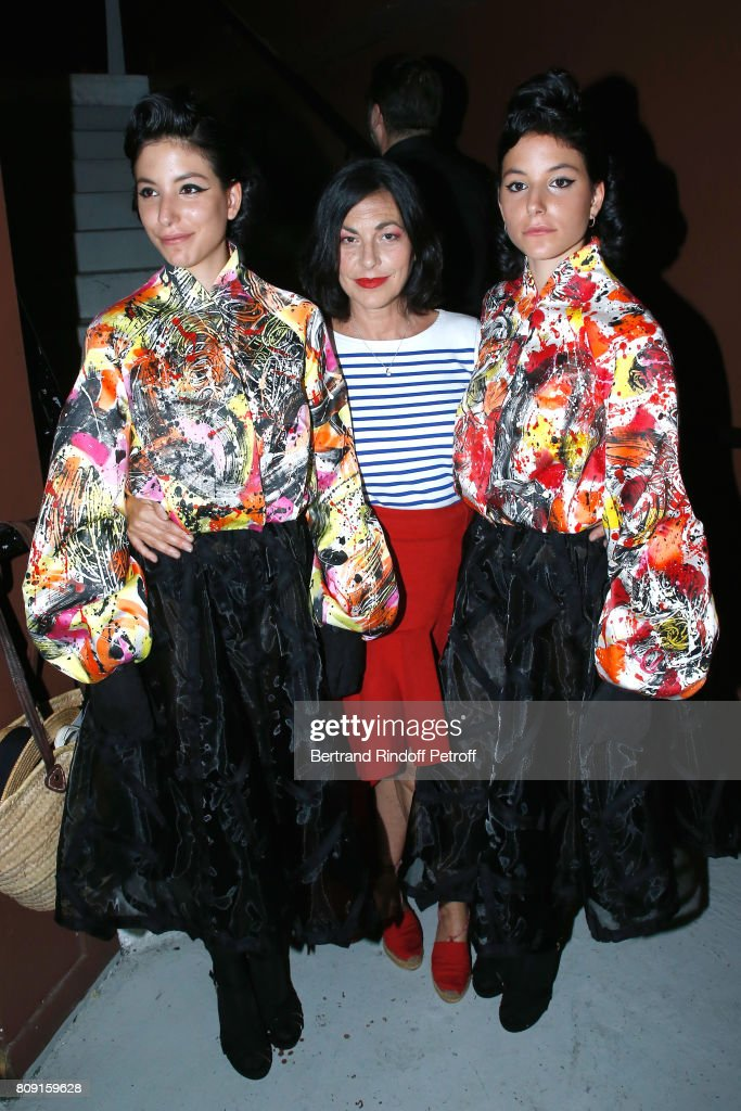 Franck Sorbier : Front Row - Paris Fashion Week - Haute Couture Fall/Winter 2017-2018 : News Photo