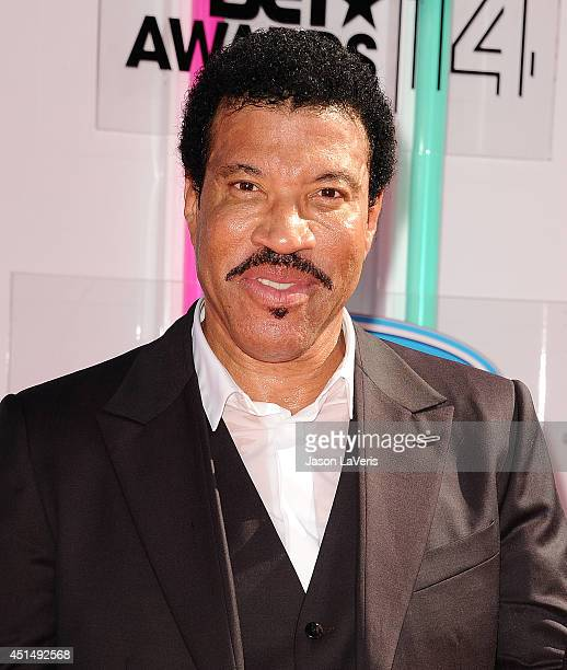 Singer Lionel Richie attends the 2014 BET Awards at Nokia Plaza LA LIVE on June 29 2014 in Los Angeles California