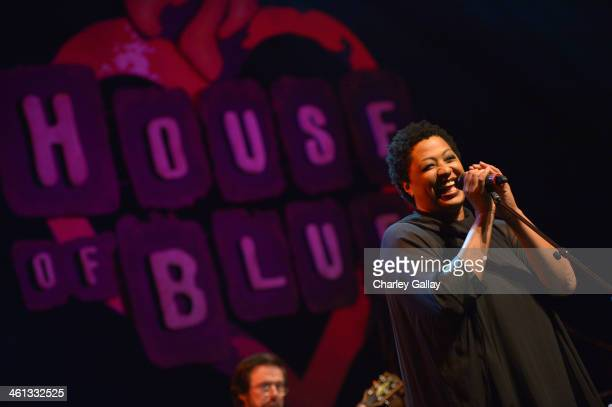 Singer Lisa Fischer performs onstrage at the celebration of black cinema hosted by Broadcast Film Critics Association at House of Blues Sunset Strip...