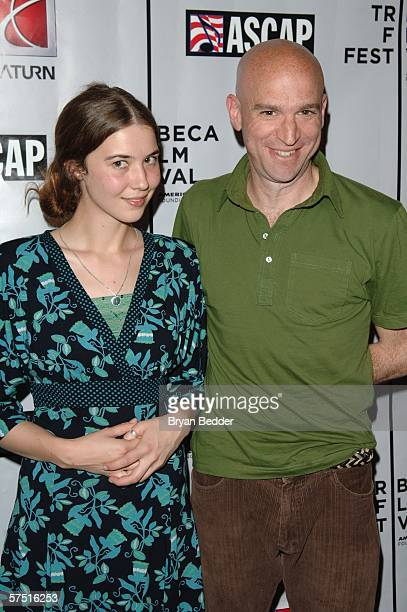 Singer Lisa Hannigan and musician Tom Osander pose at the Tribeca/ASCAP Music Lounge at Canal Room during the 5th Annual Tribeca Film Festival May 2...