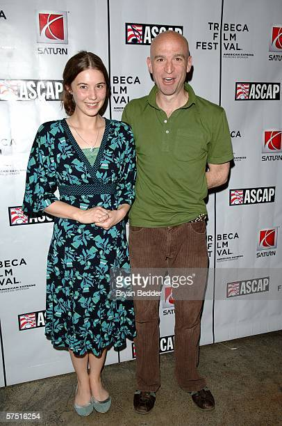 Singer Lisa Hannigan and musician Tom Osander pose at the Tribeca/ASCAP Music Lounge at Canal Room during the 5th Annual Tribeca Film Festival May 2,...