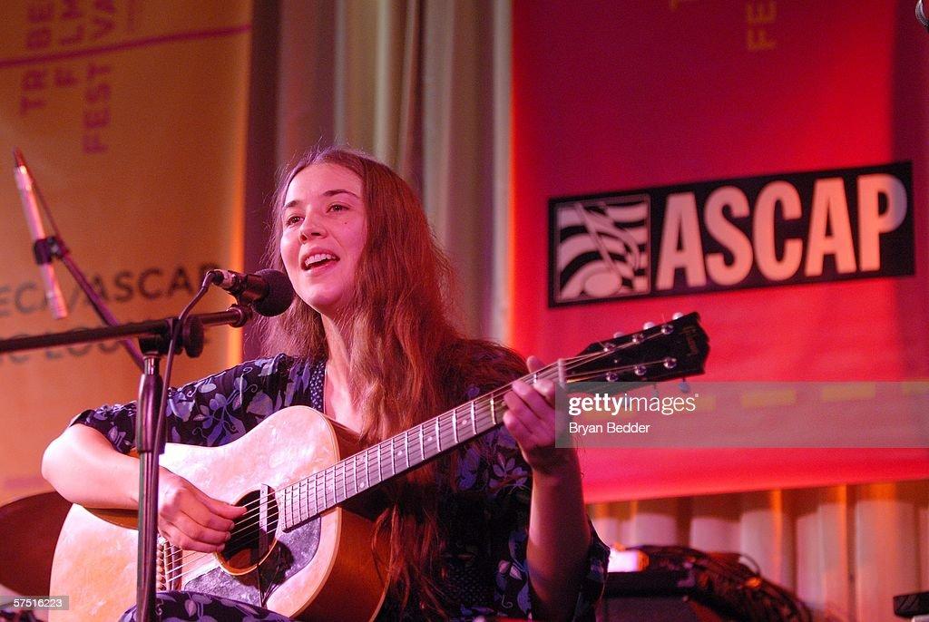 Tribeca/ASCAP Music Lounge Presents Lisa Hannigan At Canal Room : Nachrichtenfoto