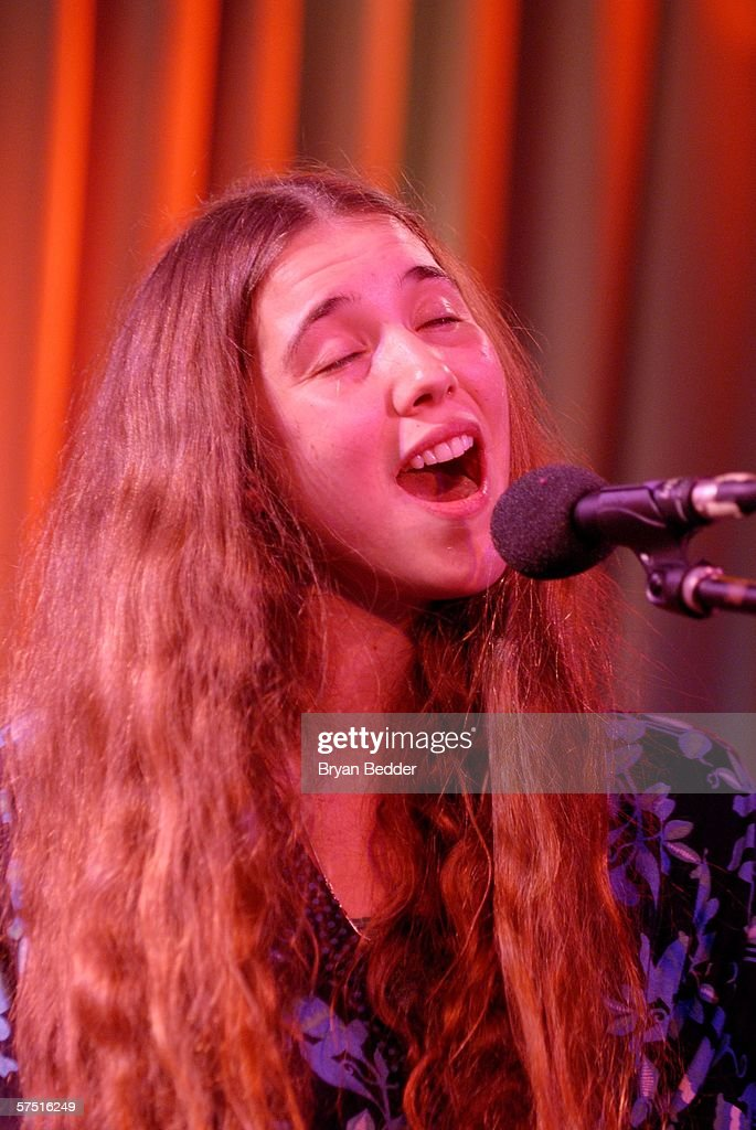 Tribeca/ASCAP Music Lounge Presents Lisa Hannigan At Canal Room : Nachrichtenfoto