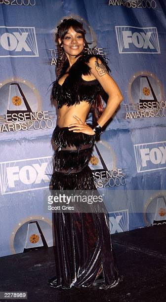 Singer Lisa 'Left Eye' Lopes pose for Pictures at the 2000 Essence Awards held at Radio City Music Hall in New York City Photo Scott Gries/Getty...