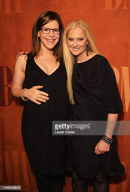 Singer Lisa Loeb and Vice President and General Manager Writer/Publisher Relations Los Angeles Barbara Cane arrive at the 60th annual BMI Pop Awards...