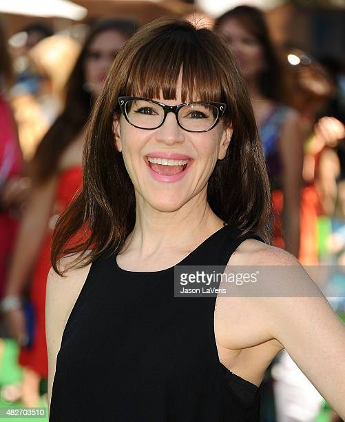 Singer Lisa Loeb attends a screening of Lionsgate's 'Shaun The Sheep Movie' at Regency Village Theatre on August 1 2015 in Westwood California
