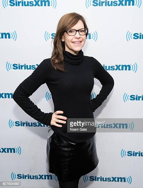 Singer Lisa Loeb visits the SiriusXM Studio on December 1 2016 in New York City