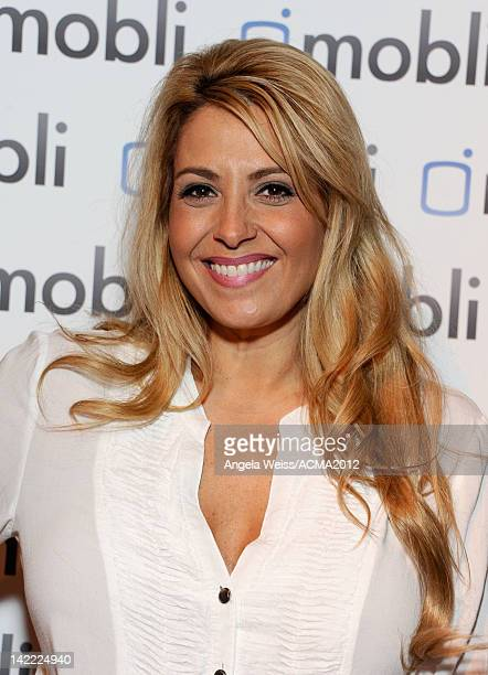 Singer Lisa Matassa attends the Gift Lounge for the 47th Annual Academy Of Country Music Awards held at the MGM Grand Hotel/Casino on March 31 2012...
