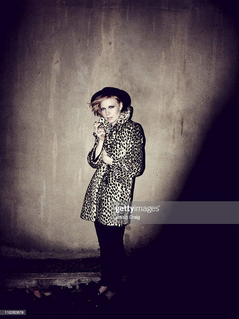 Singer Lissy Trullie photographed for Clash magazine on November 4