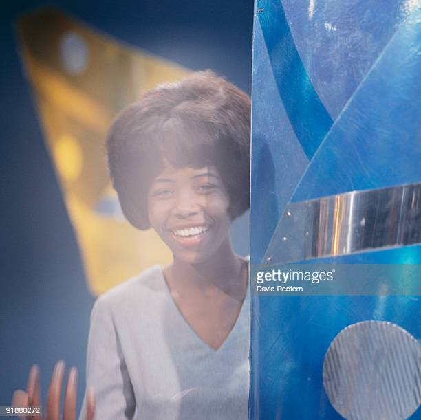 Singer Little Millie Small performs on a television show circa 1964
