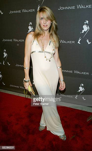 Singer Liz Phair attends the 200th Birthday celebration of John Walker hosted by Johnny Walker at Skylight Studios on July 25 2005 in New York City