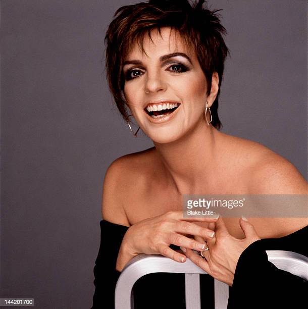 Singer Liza Minnelli photographed in 2000 in Los Angeles California