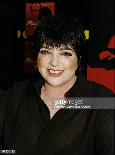Singer Liza Minnelli promotes her new album at Tower Records Store at Lincoln Center