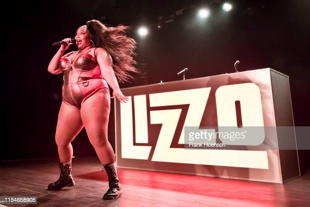 Singer Lizzo performs live during a concert at the Festsaal Kreuzberg on July 8, 2019 in Berlin, Germany.