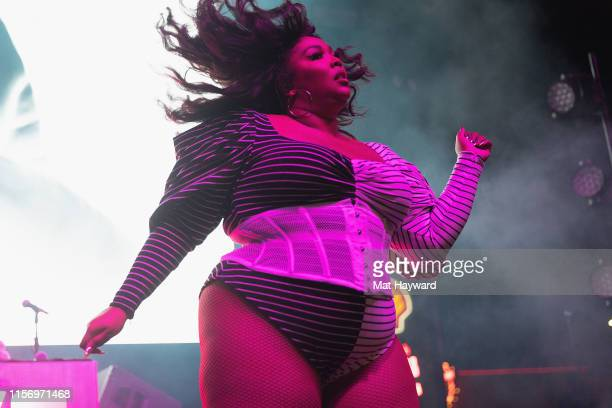 Singer Lizzo performs on stage during the Capitol Hill Block Party on July 19, 2019 in Seattle, Washington.