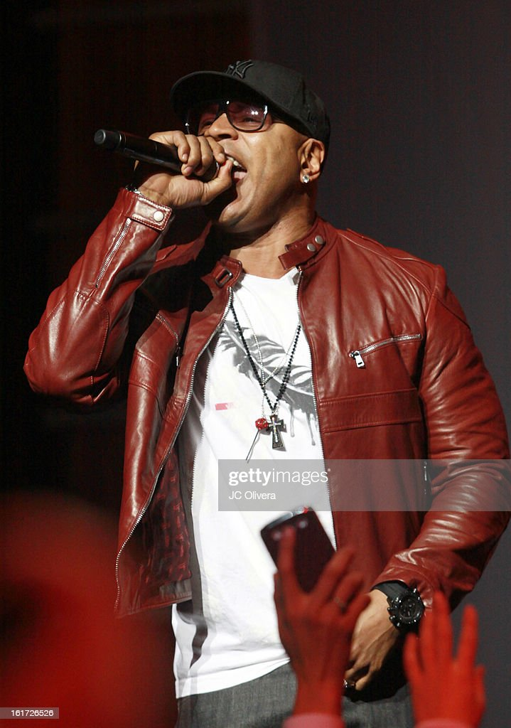 Singer LL Cool J performs on stage during Power 106's Valentine's Day Concert at Nokia Theatre L.A. Live on February 14, 2013 in Los Angeles, California.