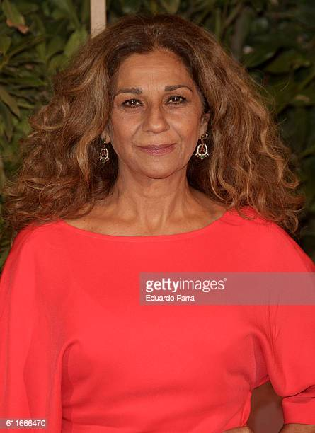 Singer Lolita Flores attends the Florida Park Retiro opening party at Florida Park Retiro on September 30 2016 in Madrid Spain