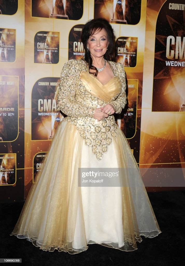 Singer Loretta Lynn attends the 44th Annual CMA Awards at the Bridgestone Arena on November 10, 2010 in Nashville, Tennessee.