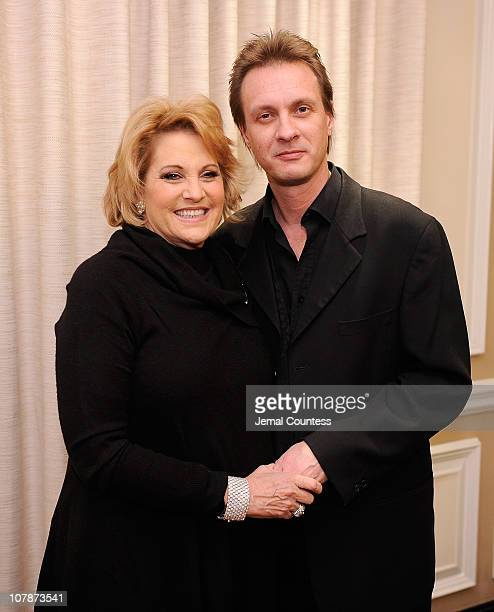 Singer Lorna Luft and her husband and musician Colin R Freeman at Feinstein's at Loews Regency Ballroom on January 4 2011 in New York City