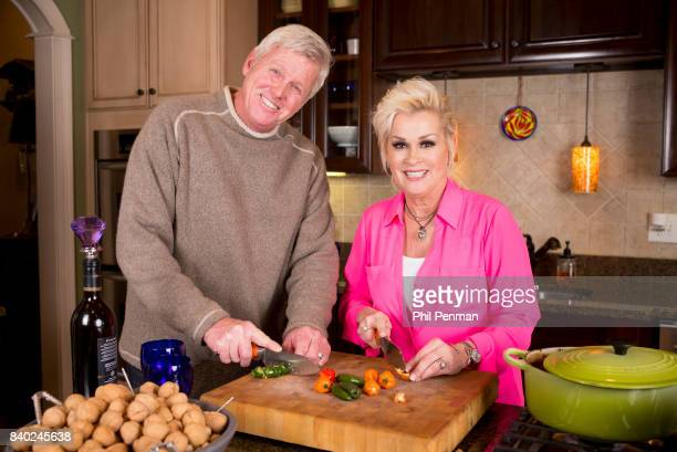 Singer Lorrie Morgan and husband Randy White are photographed for Closer Weekly Magazine on January 20 2016 at home in Tennessee