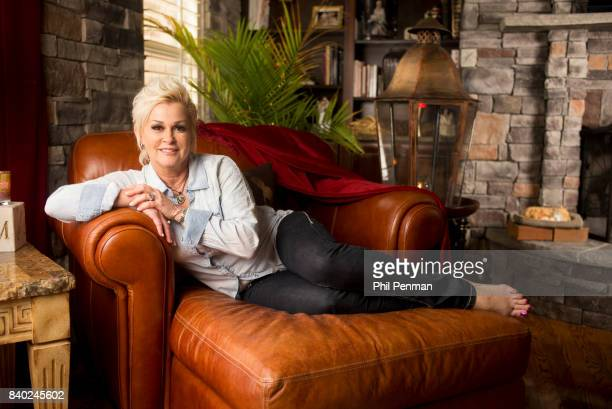 Singer Lorrie Morgan is photographed for Closer Weekly Magazine on January 20 2016 at home in Tennessee