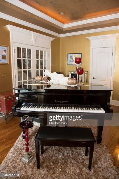 Singer Lorrie Morgan's home is photographed for Closer Weekly Magazine on January 20 2016 in Tennessee