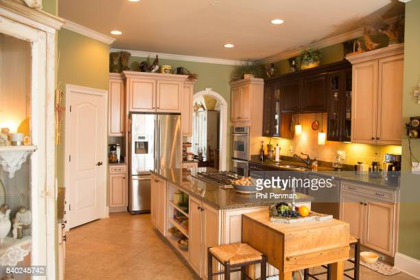 Singer Lorrie Morgan's home is photographed for Closer Weekly Magazine on January 20 2016 in Tennessee Kitchen