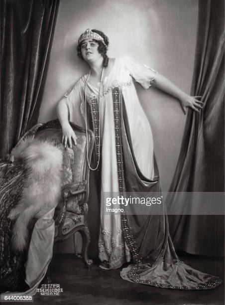Singer Lotte Lehmann as Tasca in >Tosca< by Giacomo Puccini Vienna State Opera 1923 Photograph by Franz Xaver Setzer