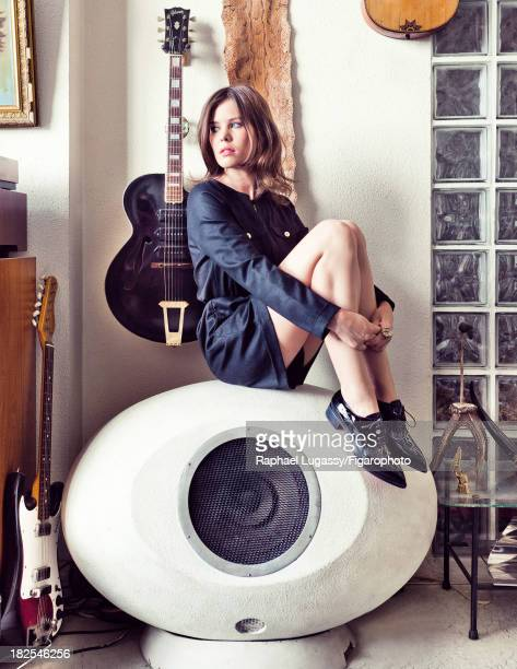 Singer Lou Lesage is photographed for Madame Figaro on July 19, 2013 in Paris, France. Outfit , ring , shoes . PUBLISHED IMAGE. CREDIT MUST READ:...