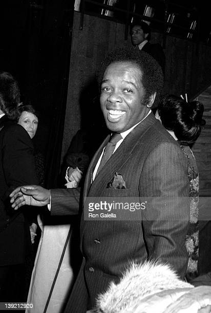 Singer Lou Rawls attends Eighth Annual American Music Awards on January 30 1981 at the Shrine Auditorium in Los Angeles California