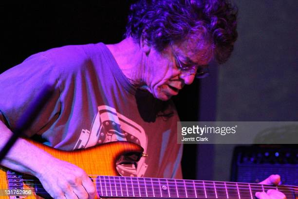 Singer Lou Reed performs at the 40th Anniversary of the Anthology Film Archive at the Hiro Ballroom at The Maritime Hotel on May 19 2010 in New York...