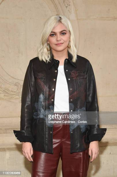 Singer Louane attends the Christian Dior show as part of the Paris Fashion Week Womenswear Fall/Winter 2019/2020 on February 26 2019 in Paris France