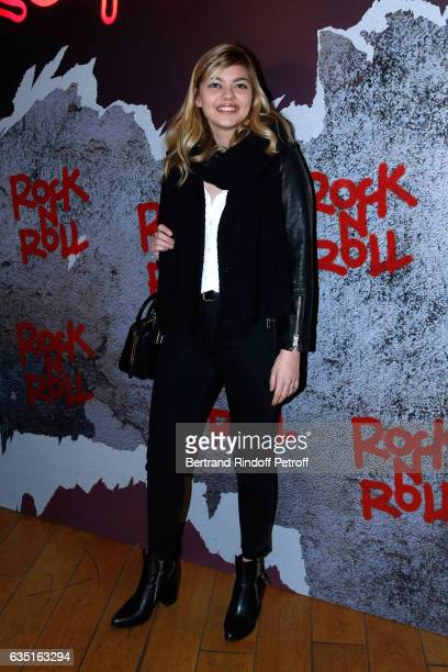 Singer Louane Emera attends the Rock'N Roll Premiere at Cinema Pathe Beaugrenelle on February 13 2017 in Paris France
