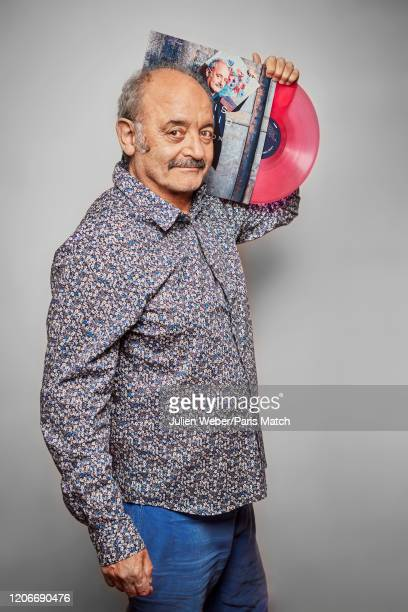 Singer Louis Chedid is photographed for Paris Match at home on February 3 2020 in Paris France
