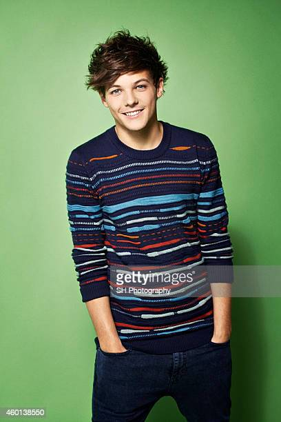 Singer Louis Tomlinson of pop band One Direction is photographed on May 9 2012 in London England