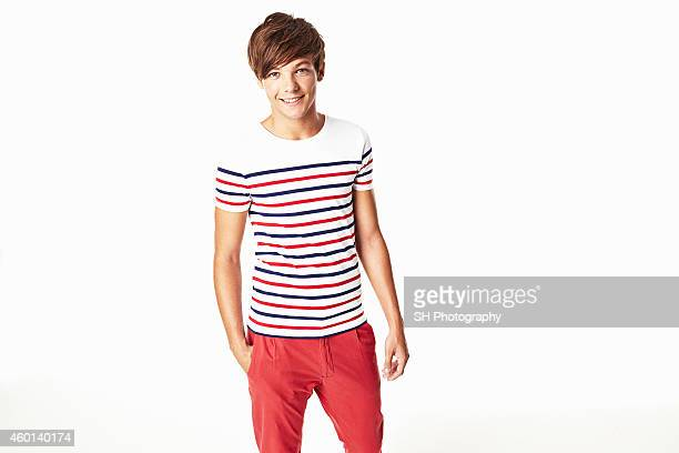 Singer Louis Tomlinson of pop band One Direction is photographed on December 21 2010 in London England