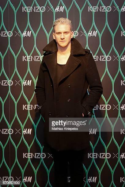 Singer Lucas Fendrich attends the KENZO x HM PreShopping Event on November 2 2016 in Vienna Austria