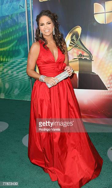 Singer Lucero arrives at the 8th Annual Latin GRAMMY Awards at Mandalay Bay on November 8, 2007 in Las Vegas, Nevada.