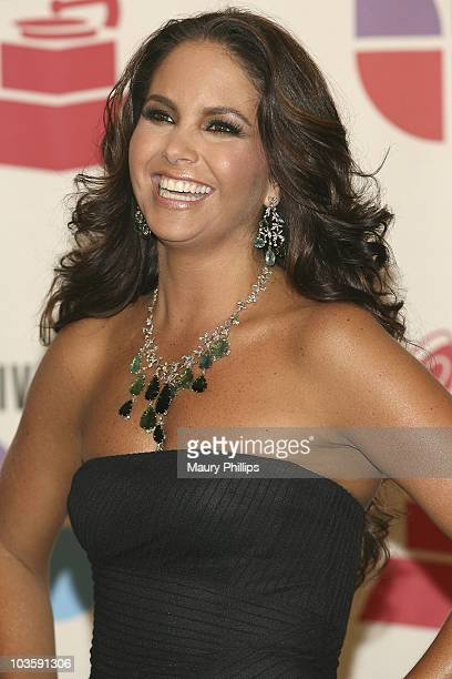 Singer Lucero in the press room at the 8th Annual Latin GRAMMY Awards at Mandalay Bay on November 8 2007 in Las Vegas Nevada