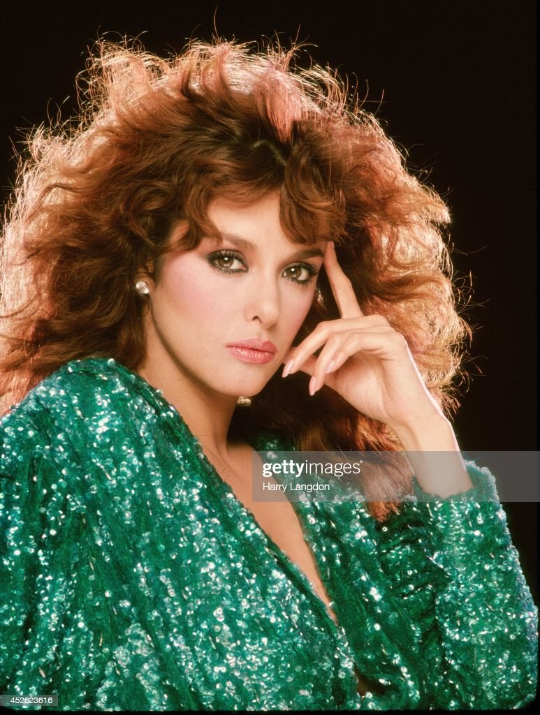 Singer Lucia Mendez poses for a portrait in 1982 in Los ...
