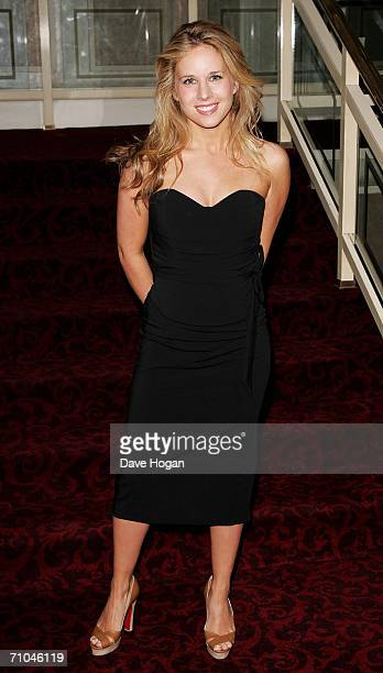 Singer Lucie Silvas arrives at the 51st Ivor Novello Awards at the Grosvenor House Hotel on May 25 2006 in London England