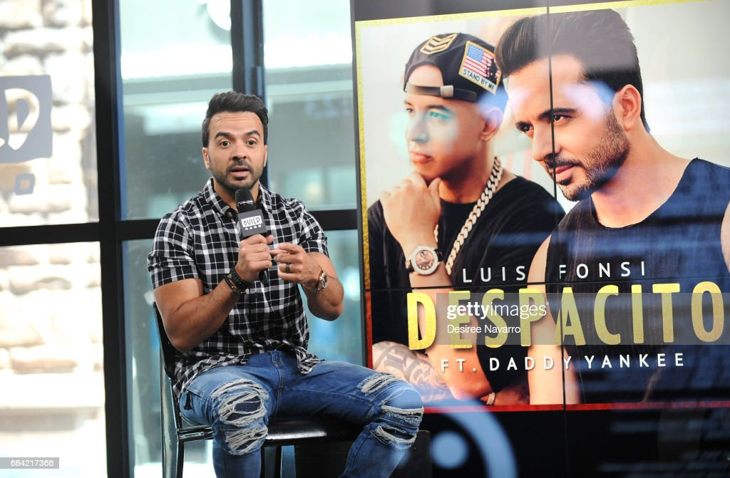 Build Presents Luis Fonsi  Discussing His New Single 'Despacito' : News Photo