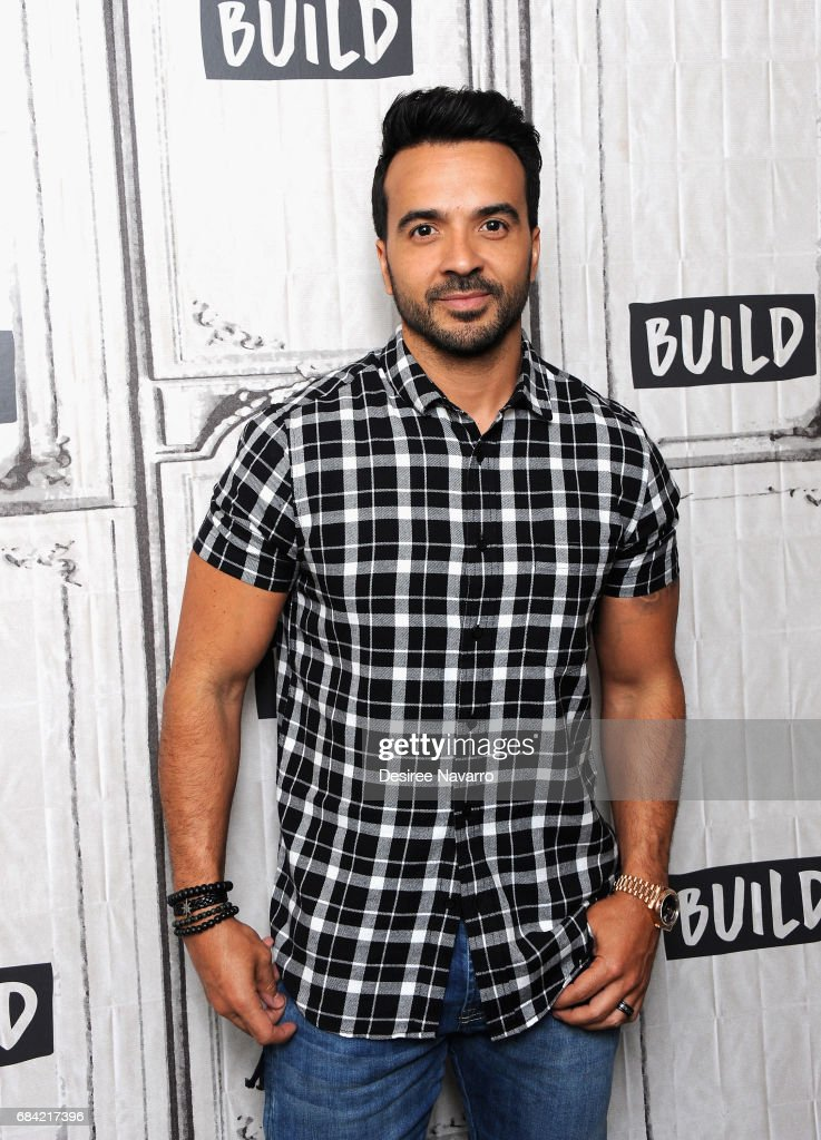 Singer Luis Fonsi attends Build to discuss his new single 'Despacito' at Build Studio on May 17, 2017 in New York City.