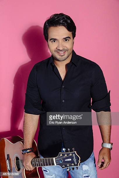 Singer Luis Fonsi poses for a portraits at the 2015 Billboard Latin Music Conference for Billboard Magazine on April 29 2015 in Miami Florida