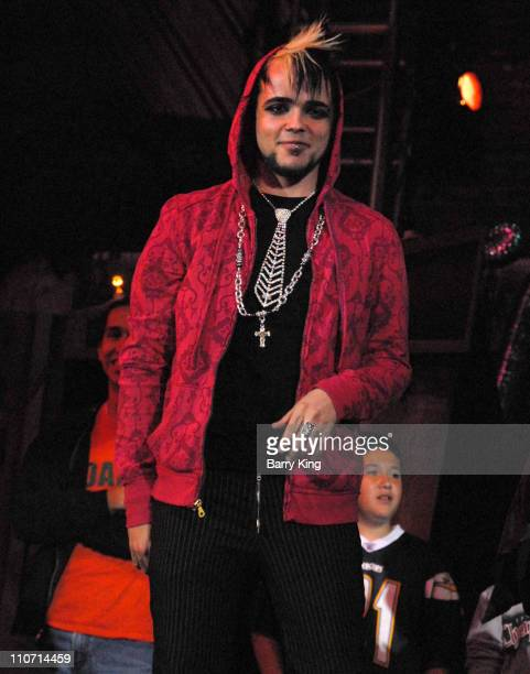 Singer Lukas Rossi attends Knott's Scary Farm's 35th Annual Halloween Haunt on October 12 2007 in Buena Park California