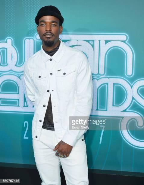Singer Luke James attends the 2017 Soul Train Music Awards at the Orleans Arena on November 5 2017 in Las Vegas Nevada