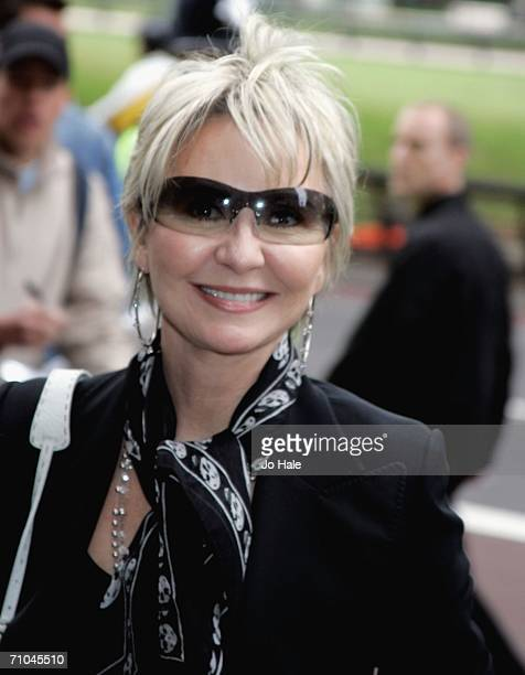 Singer Lulu arrives for The Ivor Novello Awards at The Grosvenor Hotel on May 25 2006 in London England