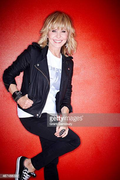 Singer Lulu is photographed for Good Housekeeping magazine on January 25 2013 in London England